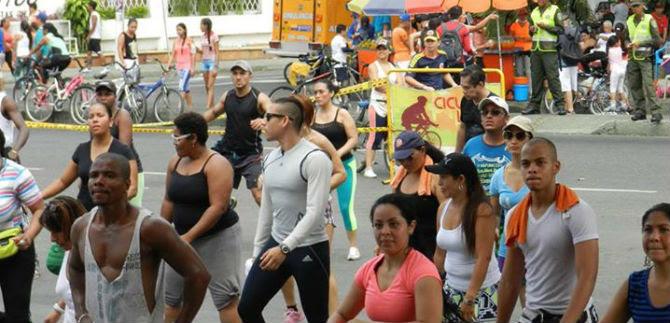 Viva la Carrera Atlética por la Paz, en la Ciclovida Cali, este domingo