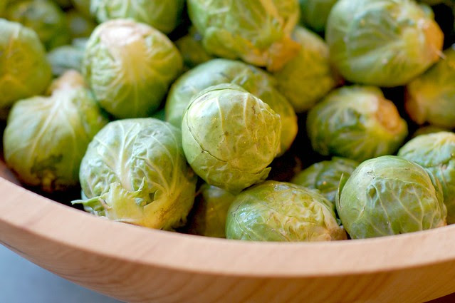 Brussels sprouts by Eve Fox, Garden of Eating blog, copyright 2011