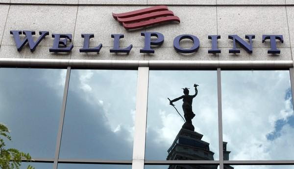 Wellpoint's headquarters are in Indianapolis.