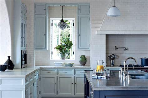 painted kitchen cabinet ideas  architectural digest