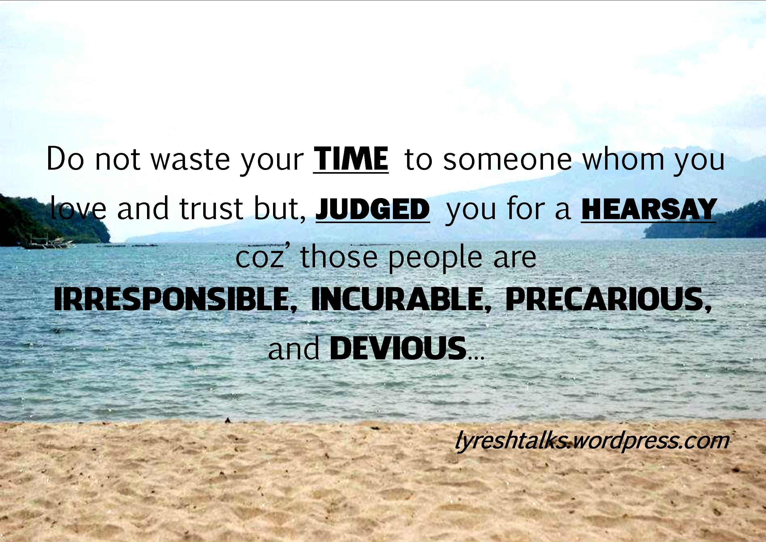 Quotes About People Judging You 52 Quotes