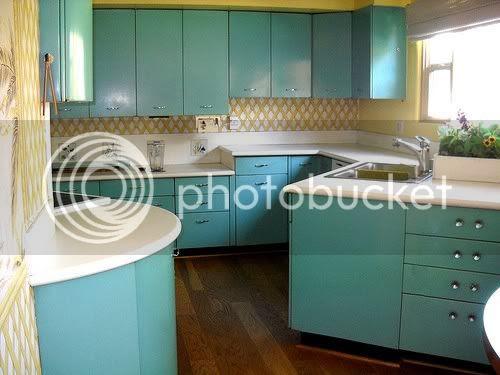 vintage 50s steel kitchen