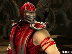 red skin scorpion mortal kombat costume picture hd