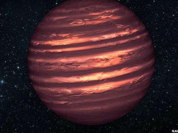 """Estrela anã marrom é uma espécie de astro """"fracassado"""", que não adquiriu massa suficiente Foto: Nasa / Divulgação"""