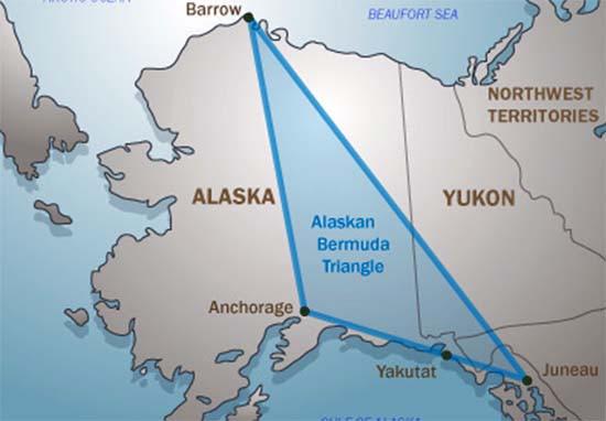 Desapariciones Triángulo Bermudas Alaska