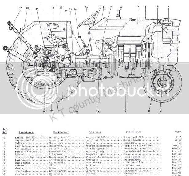 32 Massey Ferguson 165 Parts Diagram