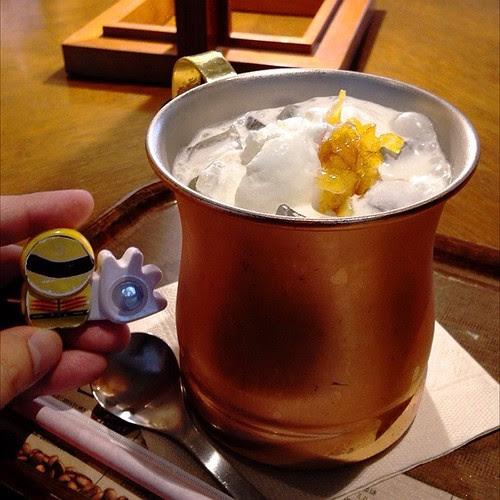 オレンジミルク珈琲。