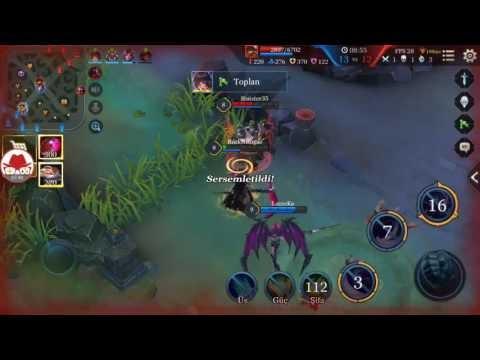 Strike of Kings Mina Gameplay