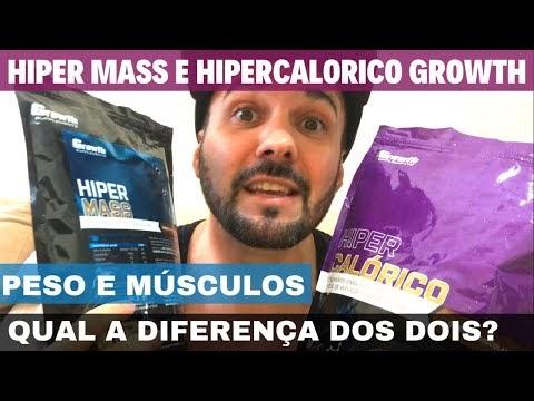 HIPERCALÓRICO GROWTH E HIPER MASS GROWTH QUAL A DIFERENÇA QUAL É O MELHOR HIPERCALÓRICO E SABOR