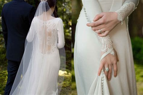 Twilight Breaking Dawn wedding dress: Disappointing?