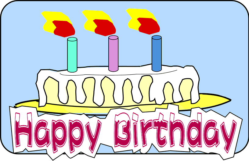 Free Birthday Cake Clip Happy Art