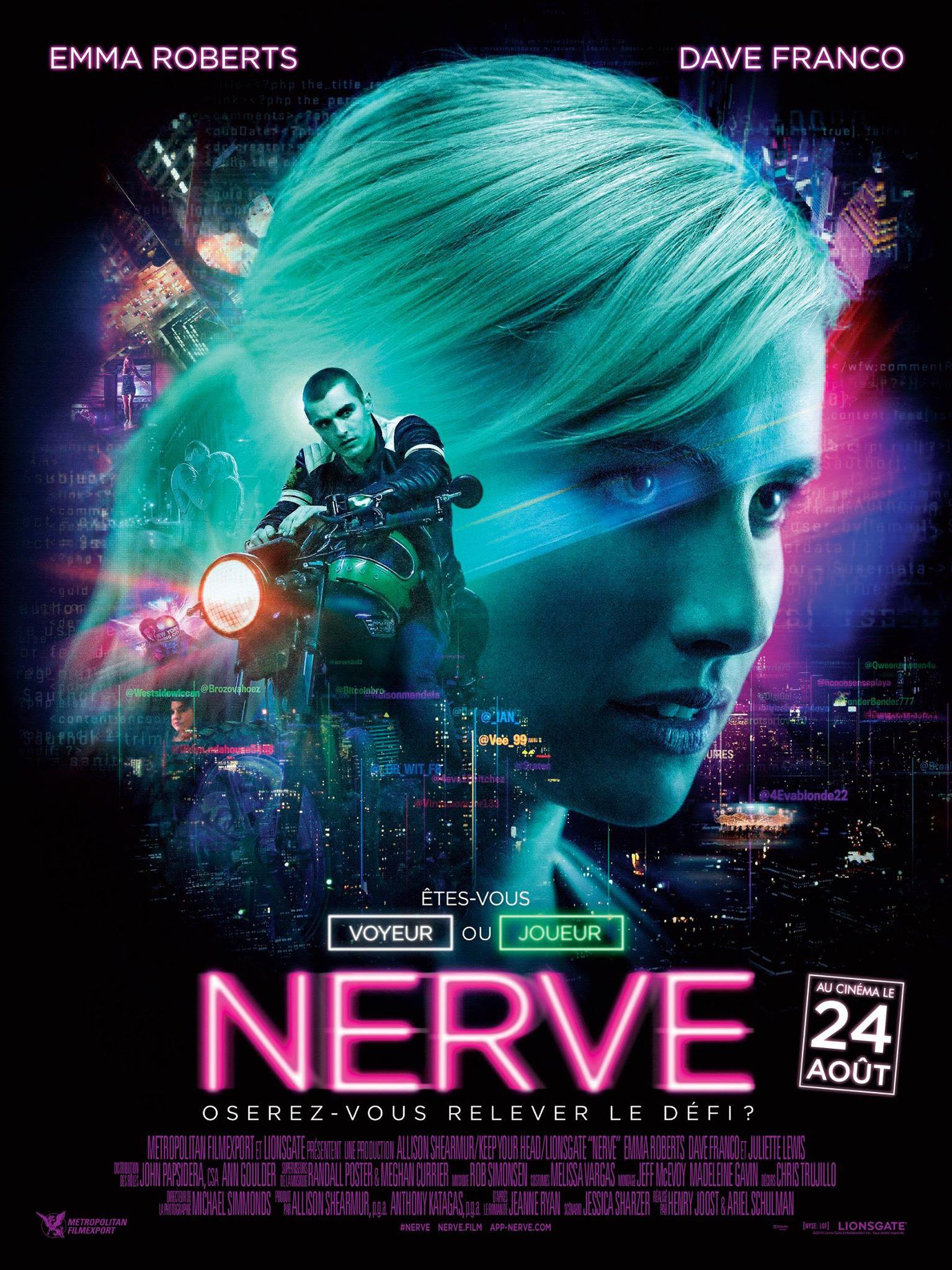 Resultado de imagen de nerve movie poster