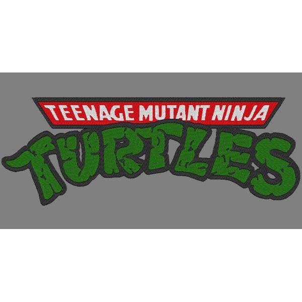 Ninja Turtles Embroidery Design