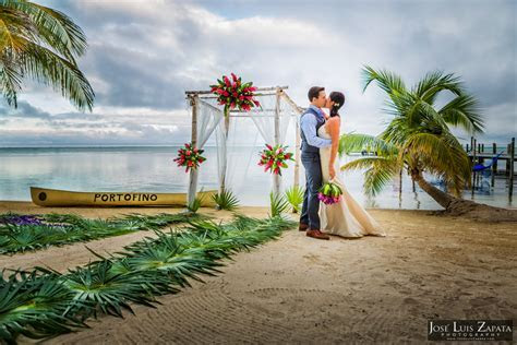 San Pedro Belize Weddings   Ambergris Caye Weddings