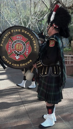 Phoenix Fire Department Bagpipes