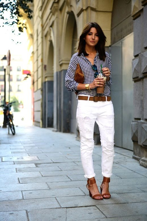 19 Le Fashion Blog 30 Fresh Ways To Wear White Jeans Gingham Button Down Shirt Sandals Via Lovely Pepa photo 19-Le-Fashion-Blog-30-Fresh-Ways-To-Wear-White-Jeans-Gingham-Button-Down-Shirt-Sandals-Via-Lovely-Pepa.jpg