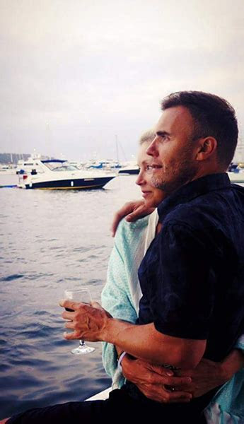Gary Barlow shares rare photo of wife Dawn on wedding