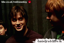 Deathly Hallows set visit on BBC's Comic Relief: Red Nose Day