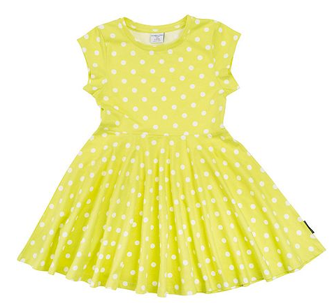 Polarn O. Pyret Girls Polka Dot Dress at House of Fraser