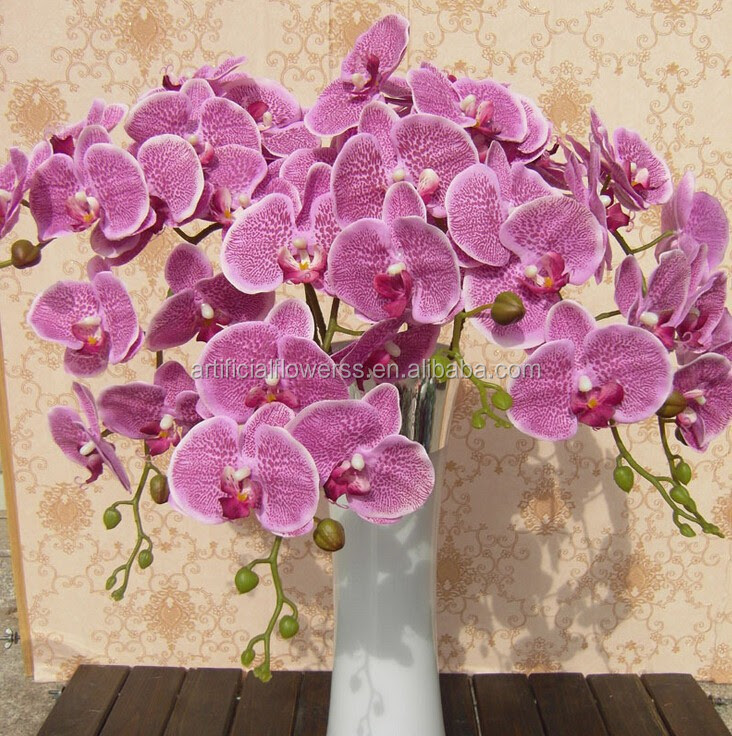 Wholesale Artificial Flowers,Silk Artificial Orchids Cheap