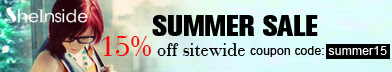 Shop the SheInside Summer Sale & Save 15% Off!