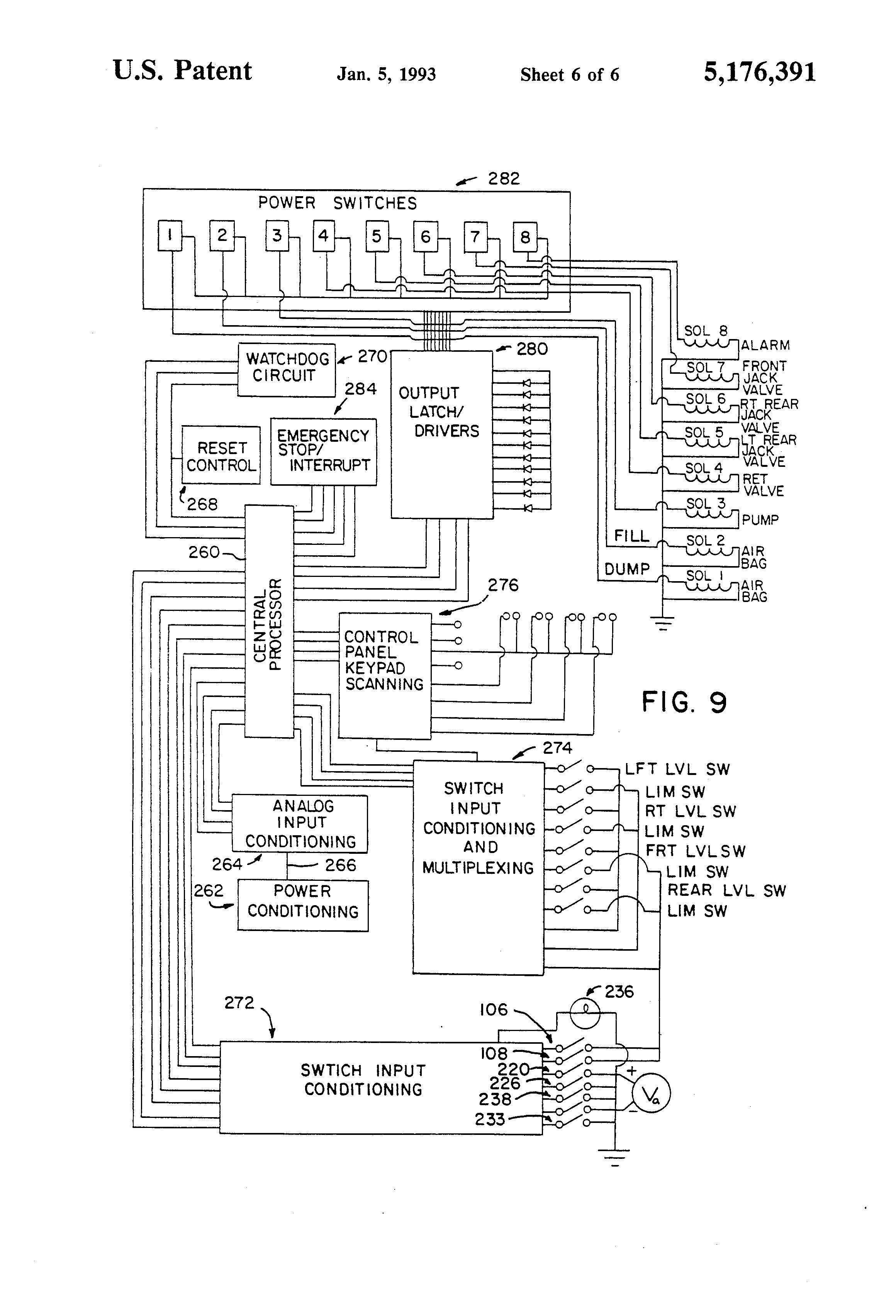 hydraulic leveling jacks wiring diagram image 5