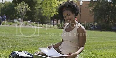 Black Woman College Student