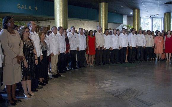 Firman juramento con la patria 33 nuevos embajadores de la República de Cuba. Foto: Ladyrene Pérez/ Cubadebate.