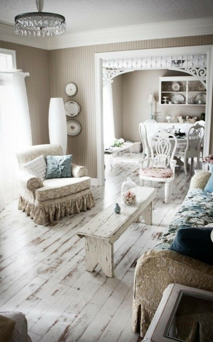 Einrichtungsideen - Vintage, Provence und Shabby Chic im ...