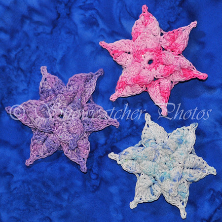 blocked Mermaid Snowflakes