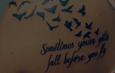 Bird Tattoos For Girls With Quotes Tattoos Designs Ideas