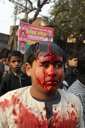 Aye Kash Main Bhi Hota Maidan E Kerbala Main.. by firoze shakir photographerno1