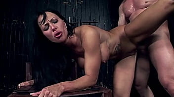 Humiliated slut Cony Ferrara.She's roughly fucked in the ass.