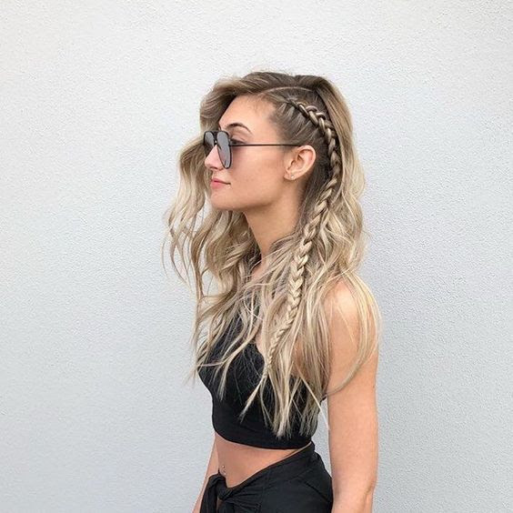 52 Pretty Side Braid Hairstyles For Long Hair You Should ...