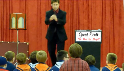 Cub Scout Magic Shows For Blue And Gold Blue Gold Banquets And