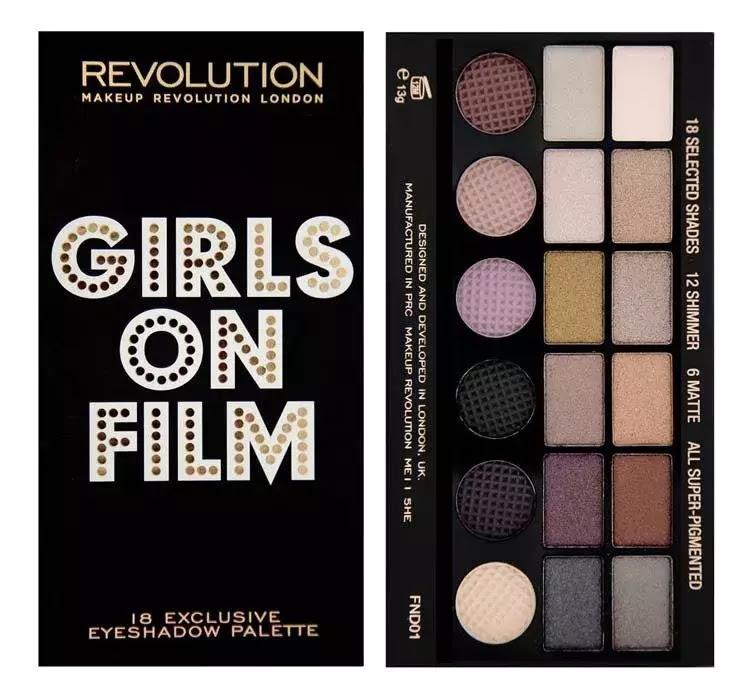 Makeup revolution girls on film
