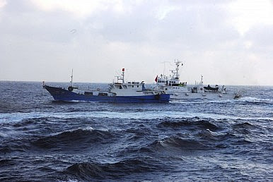 Chinese Fishermen in Troubled Waters