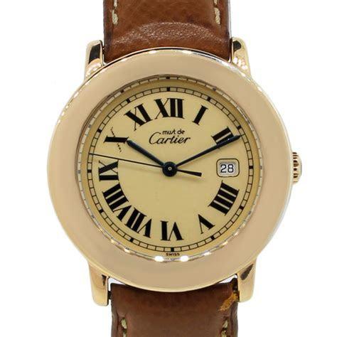 Cartier Must De Cartier 1800 Ladies Watch