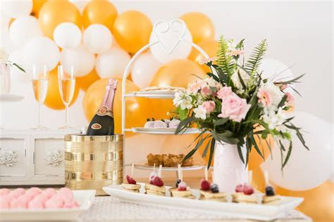 Kara's Party Ideas Champagne Brunch Bridal Shower   Kara's