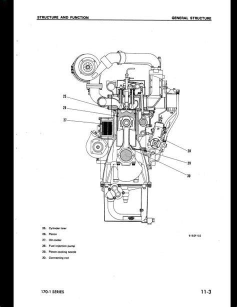 KOMATSU 6D170-1 Series DIESEL ENGINE Service Repair