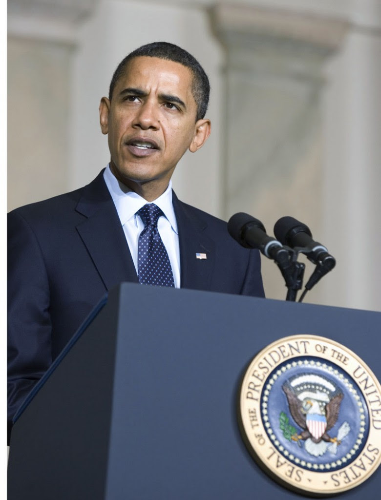 "Obama Presidential Seal Podium Speech SC 780x1024 Obama's 57 States ""Gaffe"" Proof He Is Muslim?"