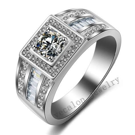 2019 Latest Silver Wedding Rings For Men