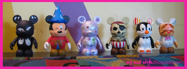 Vinylmation first 6 of collection