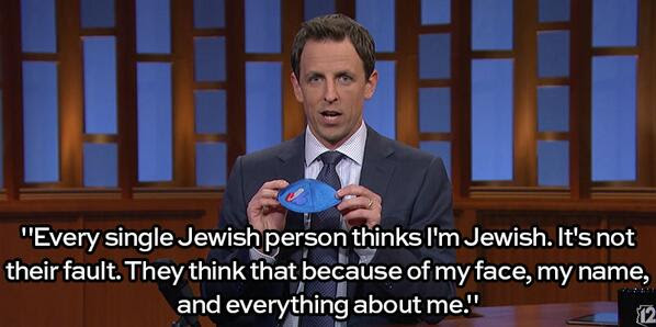 Seth Meyer Jew-ish