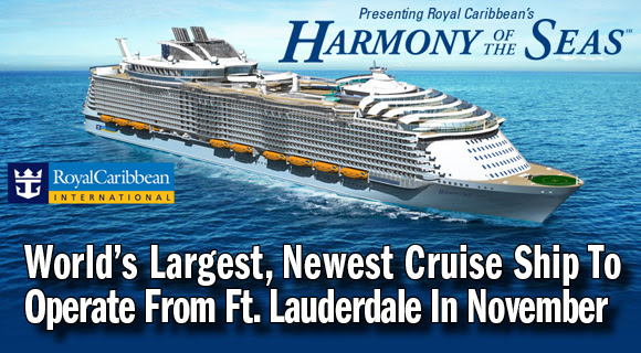 Video Royal Caribbeans New Harmony Of The Seas Is Whopping 1188