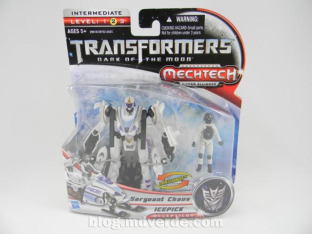 Transformers Icepick DotM Human Alliance - caja