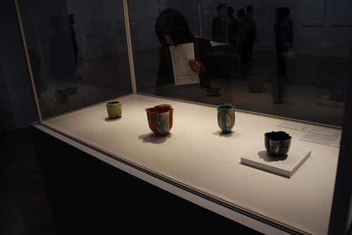 Some potteries by Lucie Rie
