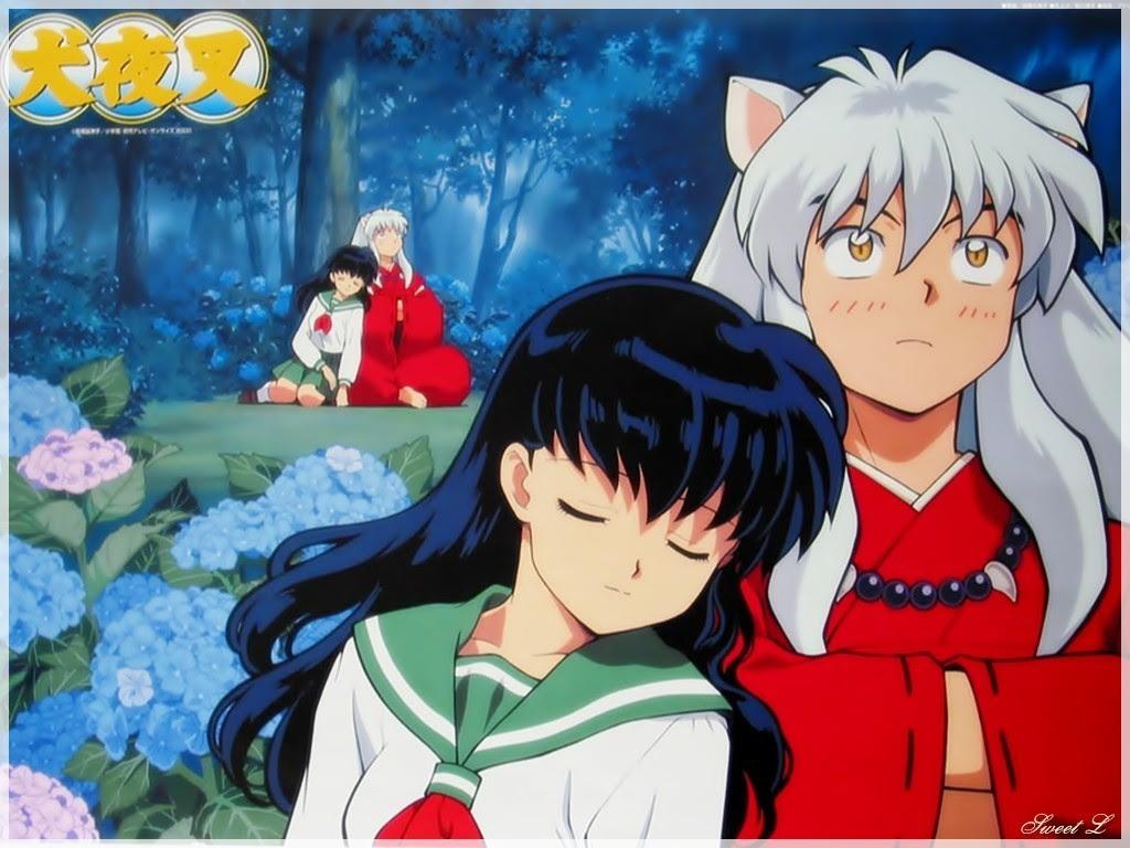 Inuyasha And Kagome 犬夜叉 かごめ 壁紙 11389527 ファンポップ