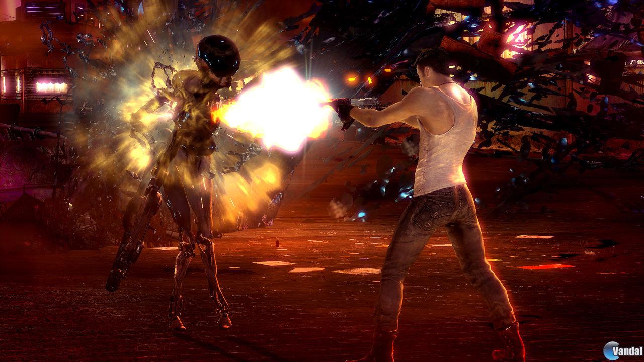 Dante y sus armas se muestran en las nuevas imágenes de DmC
