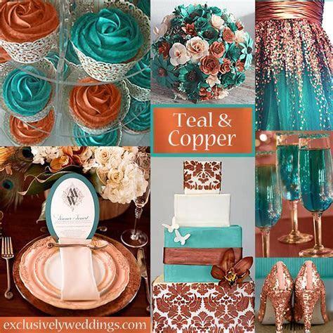 Newest Metallic Wedding Trend is Copper   WeddingDash.com
